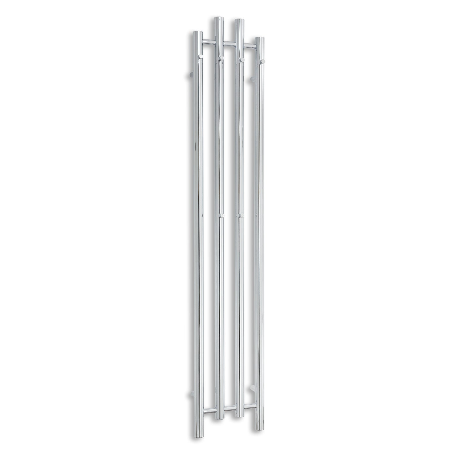 300mm Wide 1600mm High Chrome Towel Rail Radiator