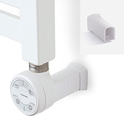 White Thermostatic Heating Element - Moa for Heated Towel Rail Radiator