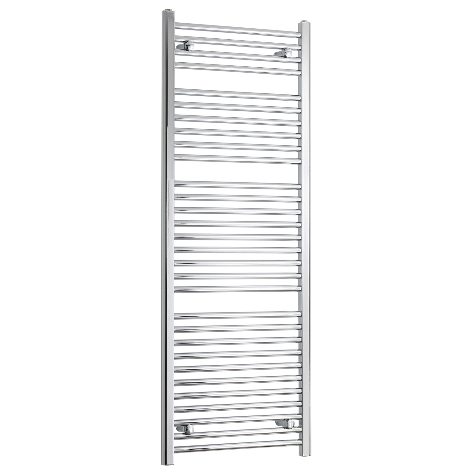 550mm Wide 1500mm High Chrome Towel Rail Radiator