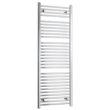 450mm Wide 1500mm High Chrome Towel Rail Radiator