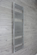 Load image into Gallery viewer, 500mm Wide 1850mm High Chrome Towel Rail Radiator