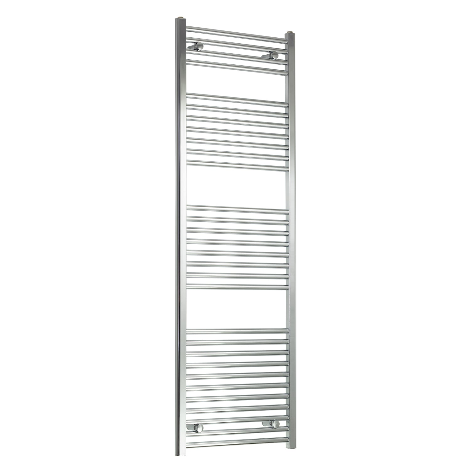 450mm Wide 1700mm High Chrome Towel Rail Radiator