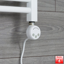 Load image into Gallery viewer, White Thermostatic Heating Element - MEG For Heated Towel Rail Radiator