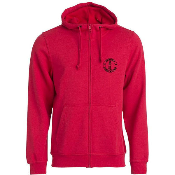 Basic Hoody Full Zip Junior - Bergen Judo Klubb