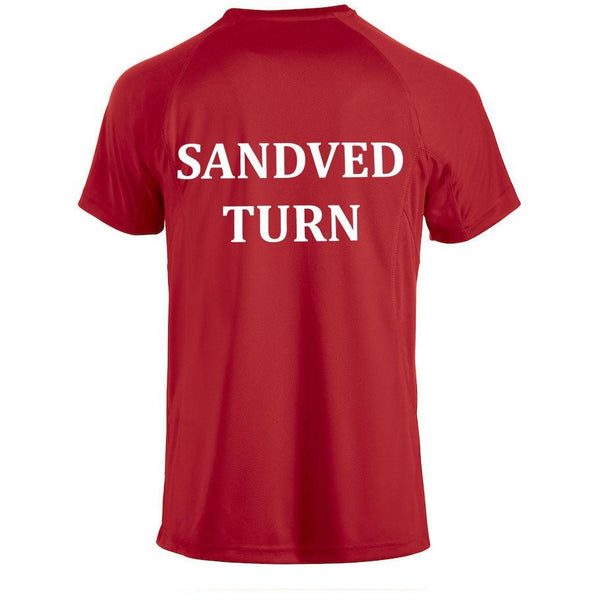 Craft Squad T-Skjorte Dame - Sandved Turn