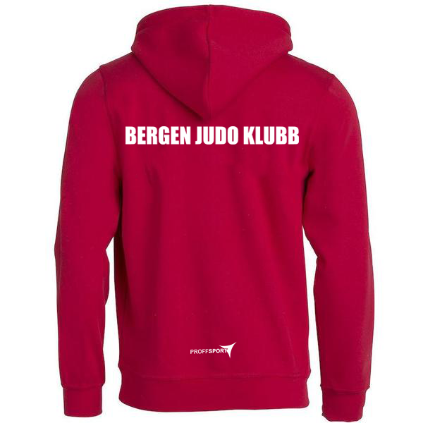 Basic Hoody Junior - Bergen Judo Klubb