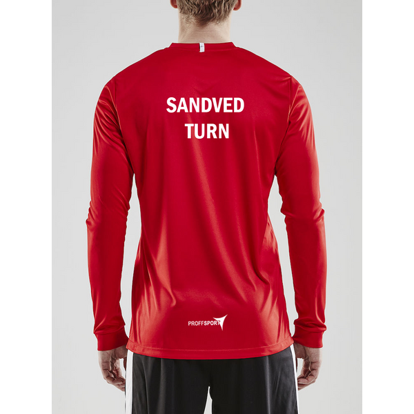 Craft Squad Jersey L/S Herre - Sandved Turn