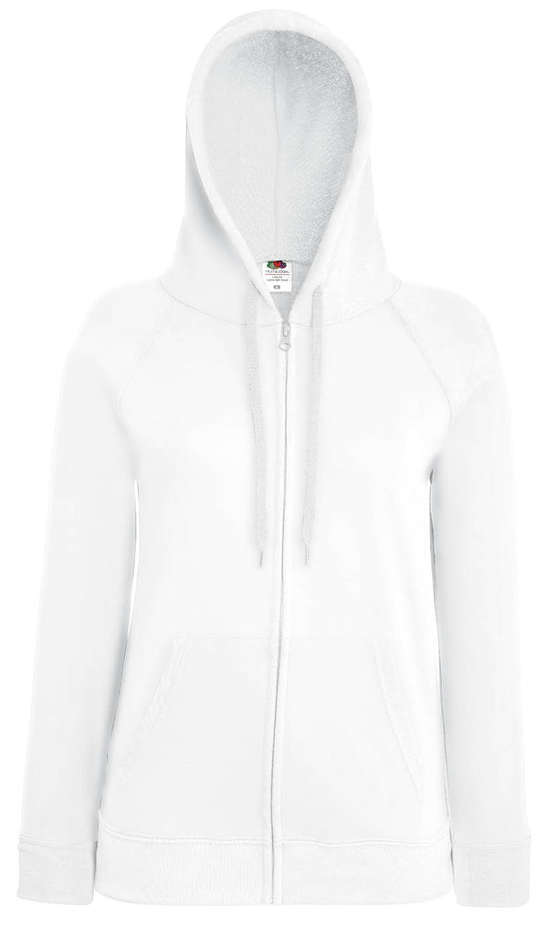 Lady- Fit Lightweight Hooded Sweat Jacket