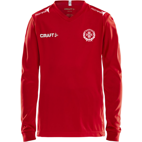 Craft Squad Jersey L/S Junior - Sandved Turn