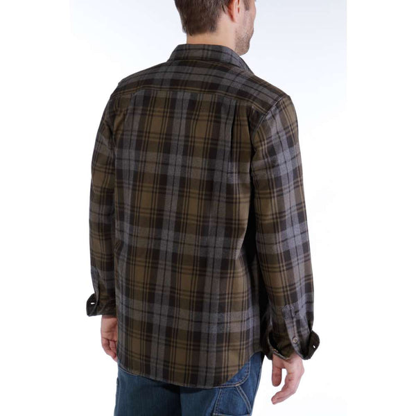 HUBBARD SLIM-FIT FLANNEL SHIRT - NKK