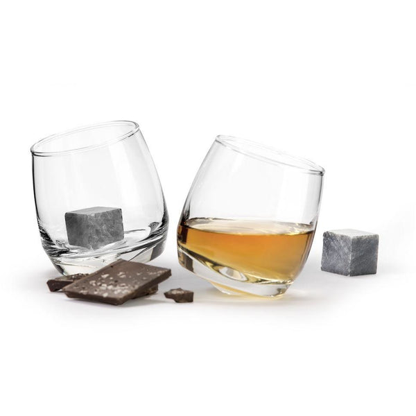 Giftset Whiskey Glass and Whiskey Stones