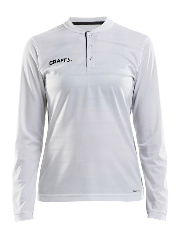 Pro Control Button Jersey Ls W