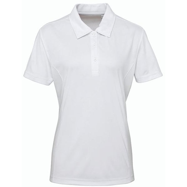 Women's Panelled Tridri Polo - Profil