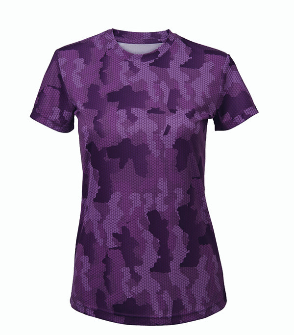 Women's Hexoflage Tridri Performance T-skjorte