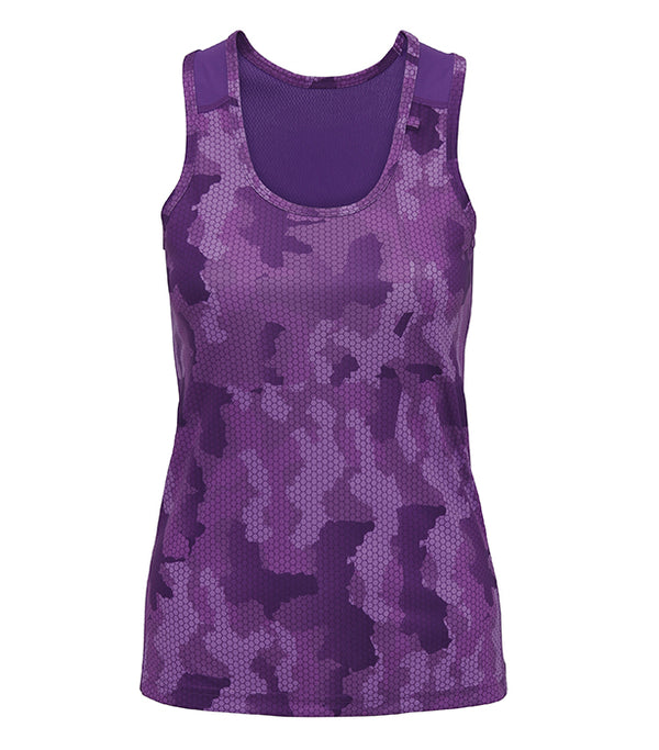 Women's Hexoflage Tridri Performance Singlet
