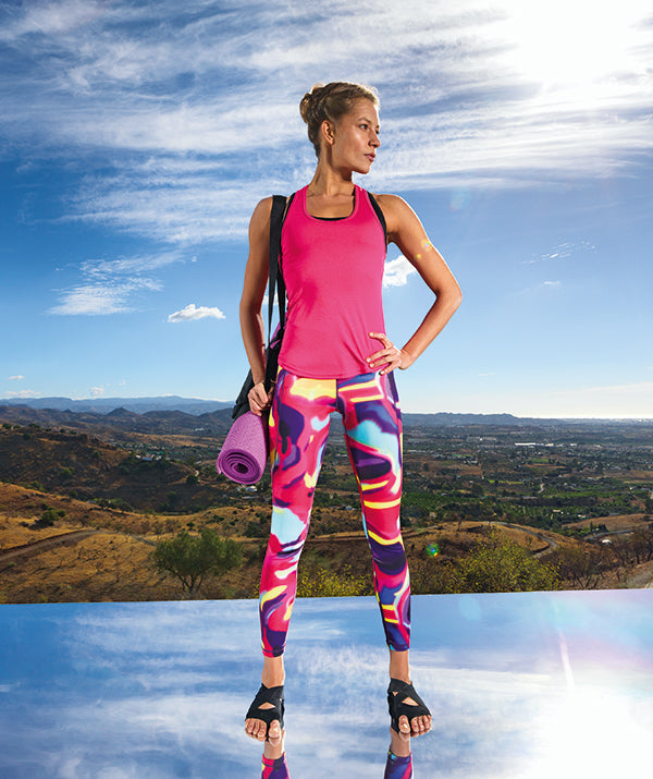 Women's TriDri performance Aurora leggings