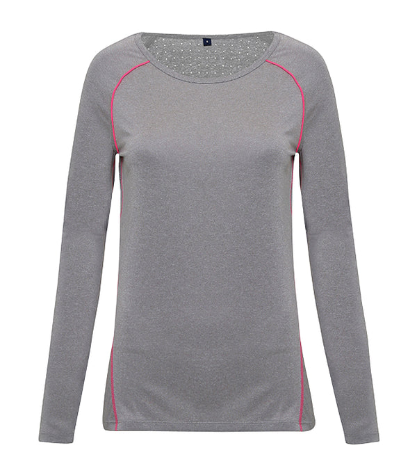 Women's Lazer Cut Tridri Scooped Top