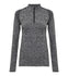 "Women's Seamless ""3D Fit"" Multi-sport Preformance Zip Top"