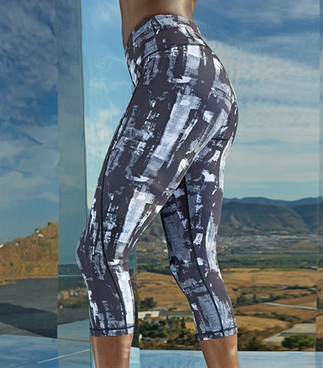 Women's TriDri Performance Sunset Leggings 3/4 Length