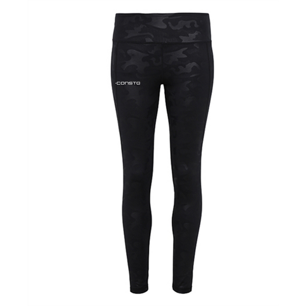 Women's TriDri Performance Camo Leggings - Consto