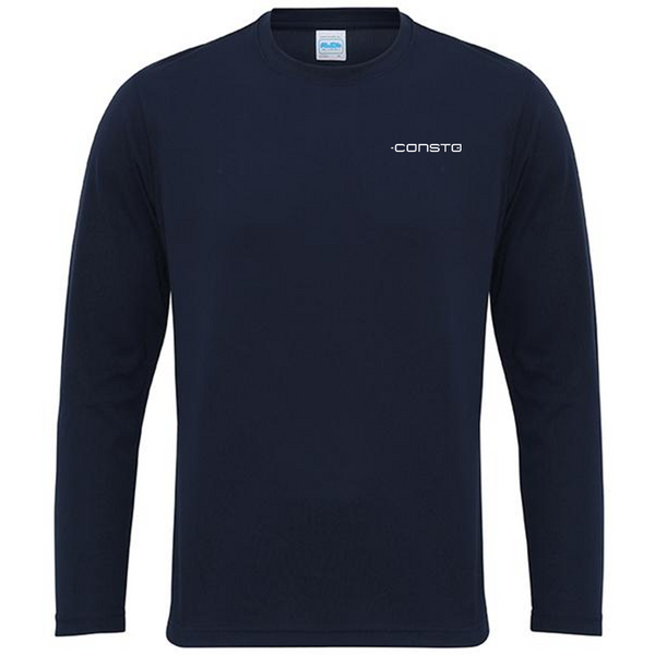 Men's Long Sleeve Cool T - Consto