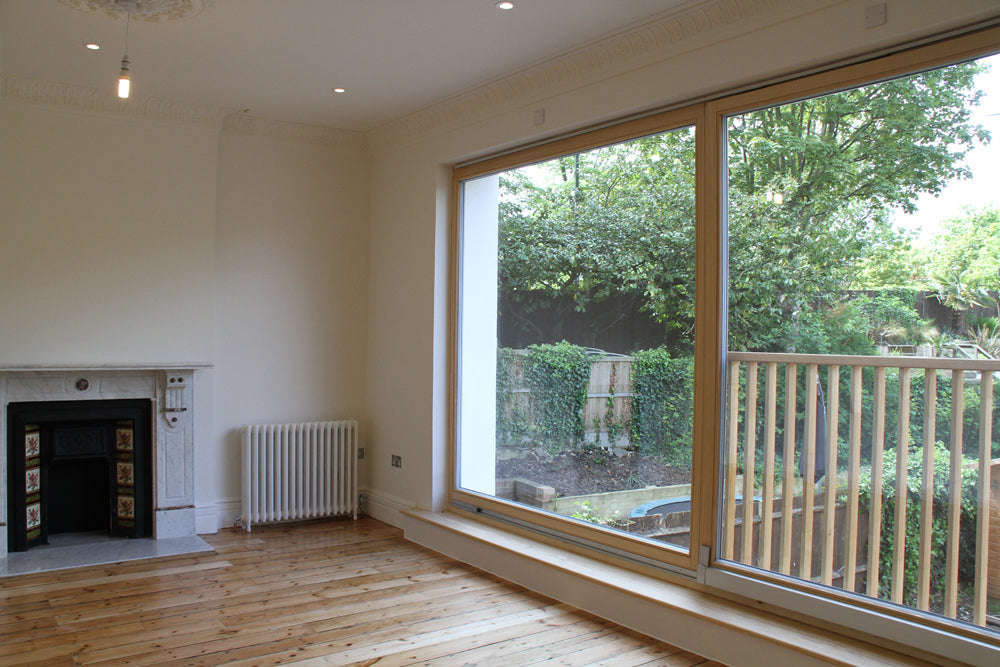 This Project Was A Complete Refurbishment Of A Terraced Victorian House.  The Whole Interior Of The House Was Gutted With The Floor Structures  Remaining, ...