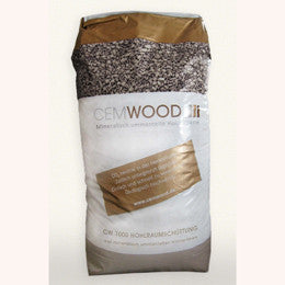 Wood chip cavity fill insulation - Cemwood CW1000 - Back to Earth