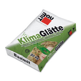 Extremely fine lime finishing plaster - Baumit Klima Glatte