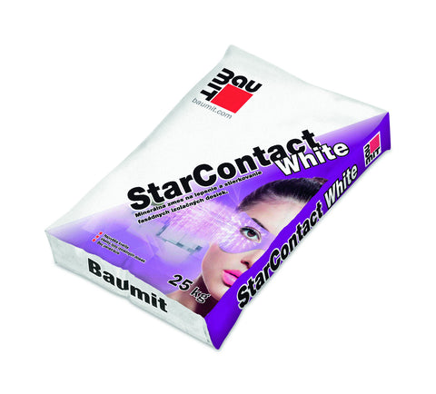 White base coat render - Baumit StarContact White - backtoearthsupplies