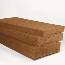 Thermal and acoustic flexible wood fibre wool insulation - SteicoFLEX 038 - Back to Earth