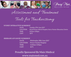 Book now for Passy-Muir and Dr Blom Workshops 2017