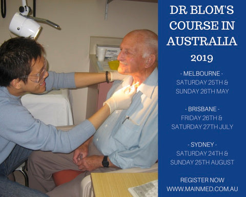 Dr Blom in Australia Workshop dates for 2019