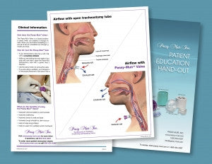 Passy-Muir Patient Education Handouts
