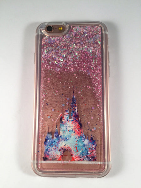 Magical Kingdom Liquid - Disney Glitter Case - iPhone 7 7 ...