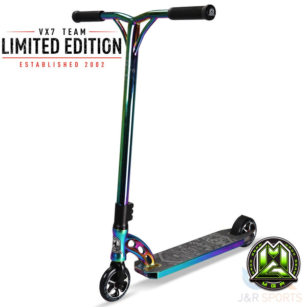 MGP VX7 TEAM LIMITED EDITION – NEO CHROME / BLACK / NEO - Indigo Scooters
