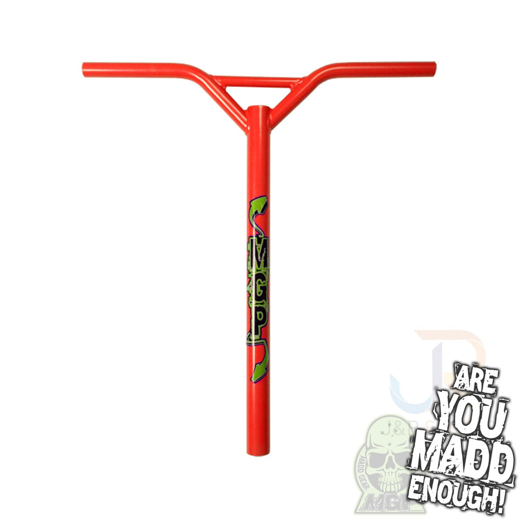 "MGP BAT WINGS STRAIGHT 23"" x 21"" - RED with LOGO"