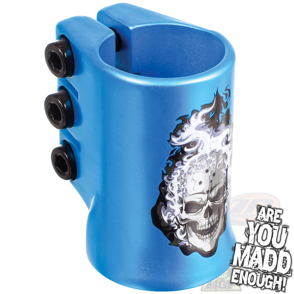 MGP Madd Hatter Triple HIC Clamps -BLUE