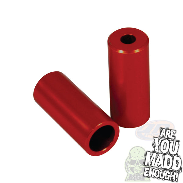 MGP ALLOY PEGS - BRIGHT RED