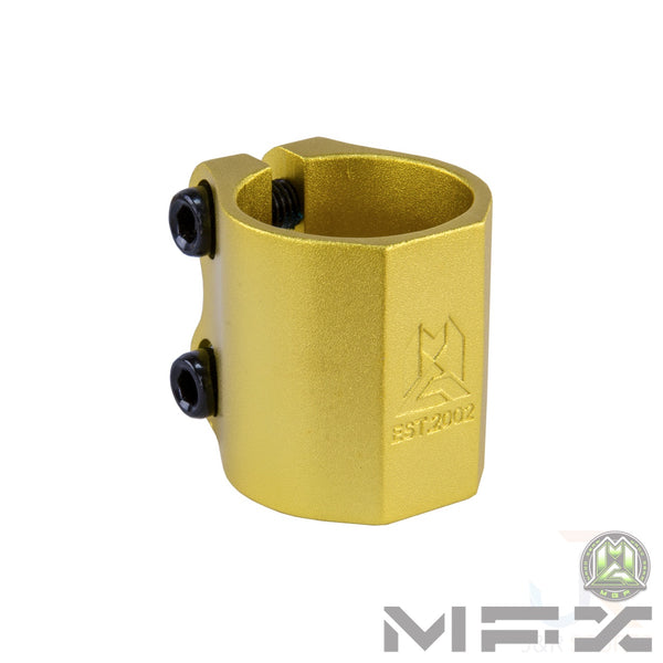 MFX EXTREME DOUBLE CLAMP - GOLD