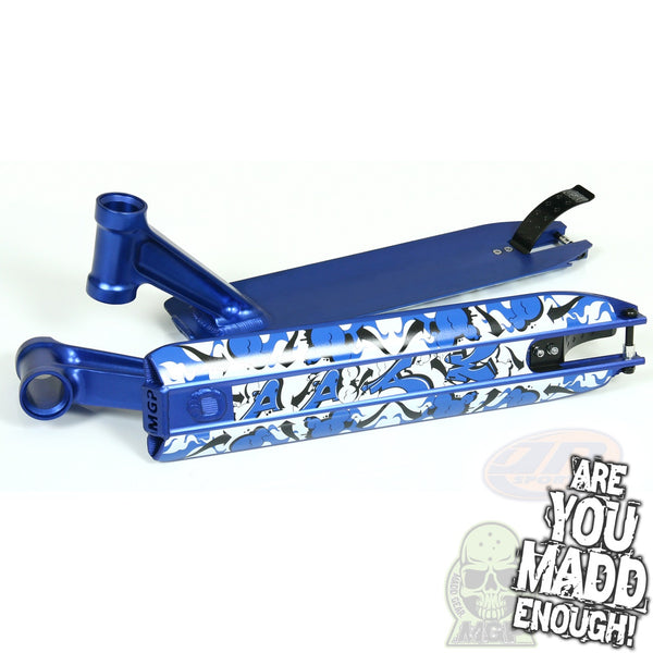 "DDAM 4.5"" STREET DECK - BLUE (INTEGRATED/BRAKE/AXEL)"