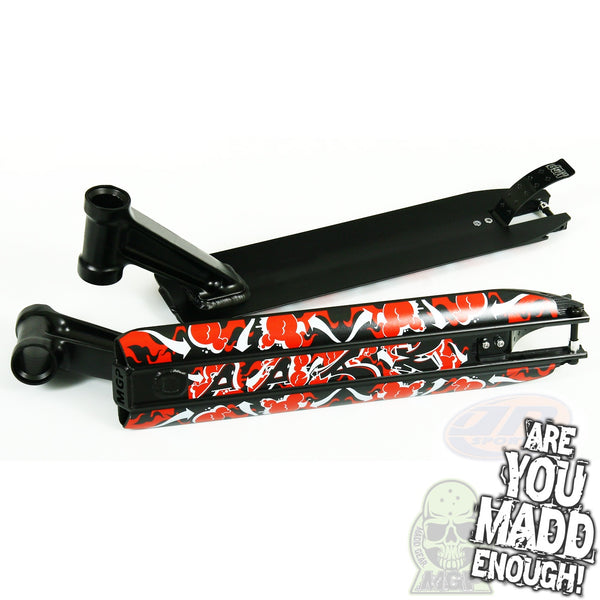 "DDAM 4.5"" STREET DECK - BLACK (INTEGRATED/BRAKE/AXEL)"