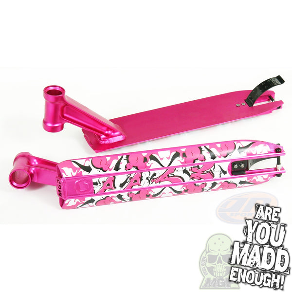 "DDAM 4.5"" STREET DECK - PINK (INTEGRATED/BRAKE/AXEL)"