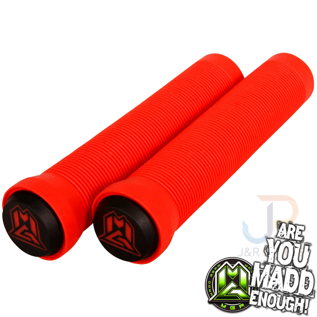 MGP 150mm GRIND GRIPS w BAR ENDS - RED