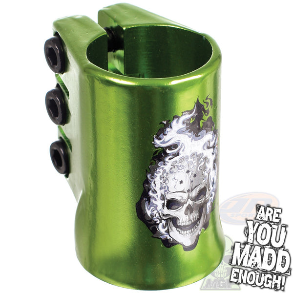 MGP Madd Hatter Triple HIC Clamps -GREEN