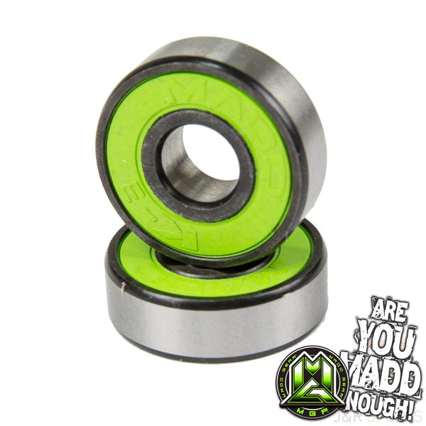 MADD K-3 BEARING SET (4) GREEN - ABEC 11