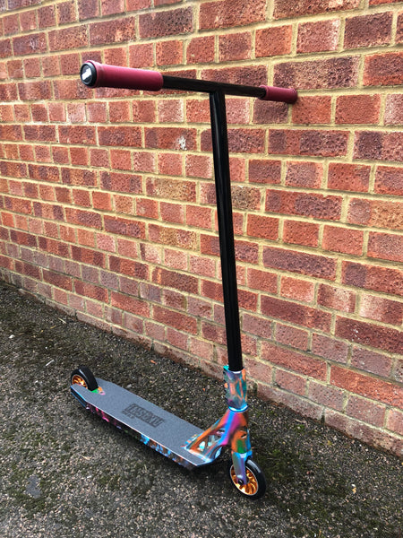 Indigo Sacrifice Akashi Custom Stunt Scooter - Graffiti