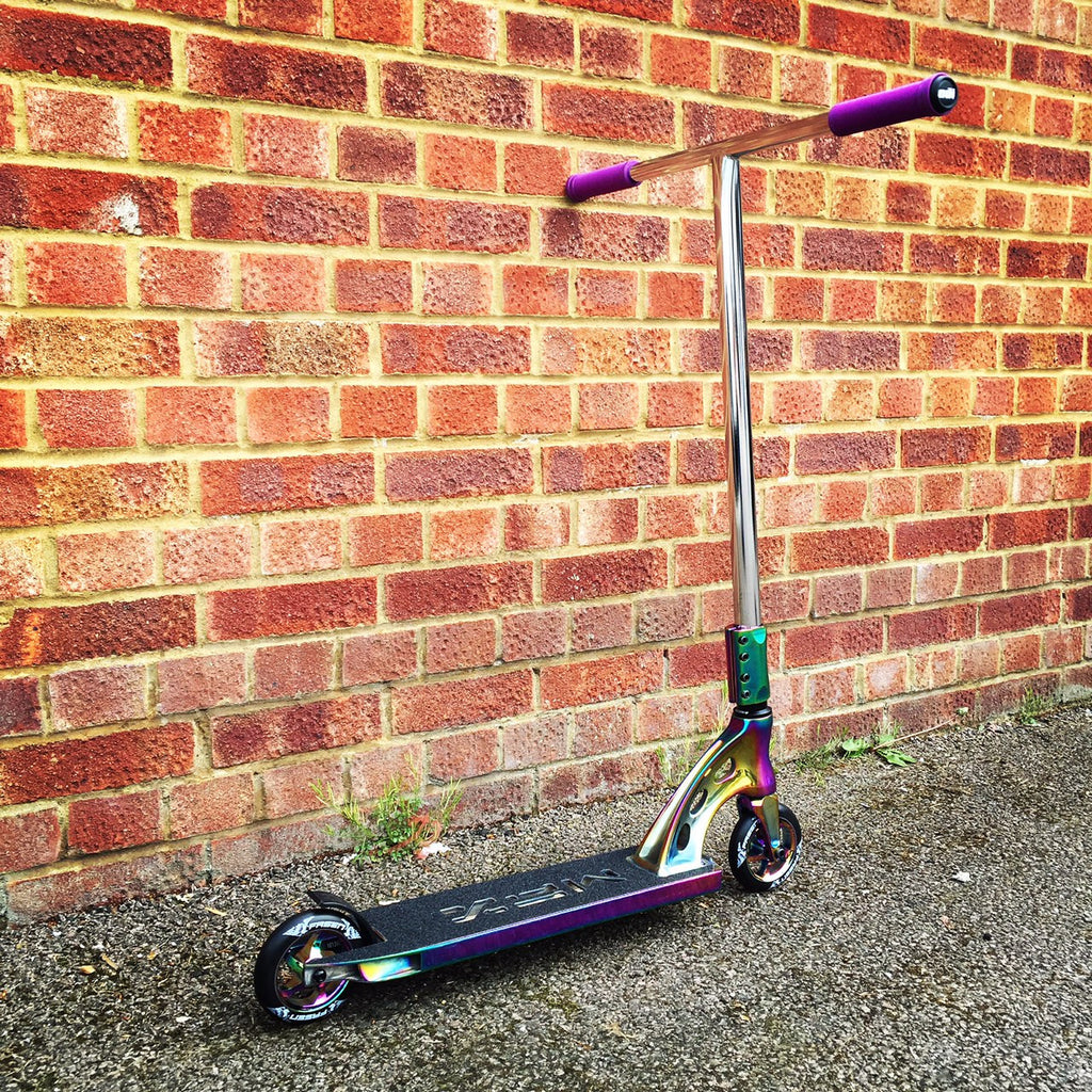 MGP MFX Vicious Custom Scooter - Limited Edition Neo Chrome - Indigo Scooters - 2