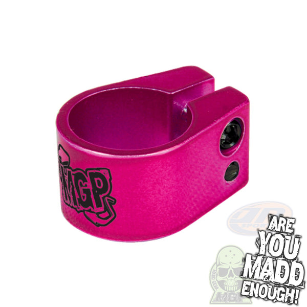 MADD DOUBLE CLAMP - PINK with MGP LOGO