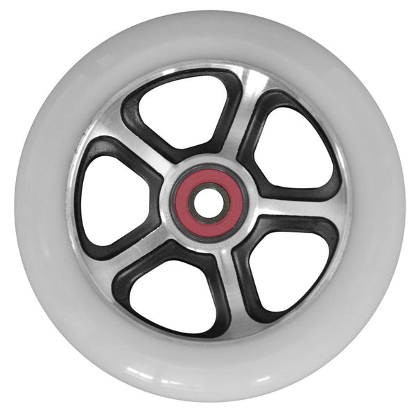 MGP CFA 110mm Wheel - Black / White - Indigo Scooters
