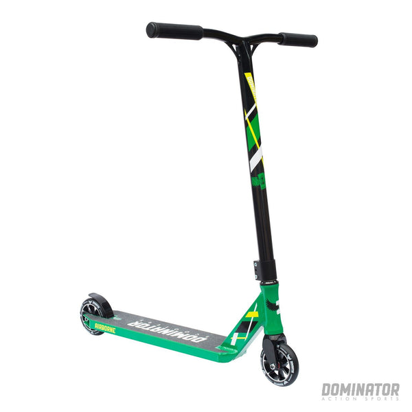Dominator Airborne Complete Scooter - Green / Black